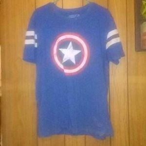 Captain America Short Sleeve